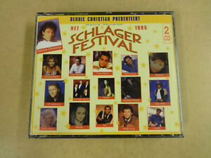 2-CD BOX / DENNIE CHRISTIAN PRESENTIERT HET HARRY THOMAS SCHLAGER FESTIVAL  1995