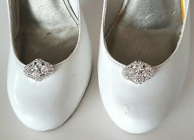 bridal shoe clips brides shoe clips decorations brads shoe clips Judaeve shoes clips shoe clips stone shoe clips made with brads