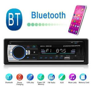 LCD-Bluetooth-Car-Stereo-Mp3-Audio-Player-USB-Wma-Mp3-Aux-Radio-Fm