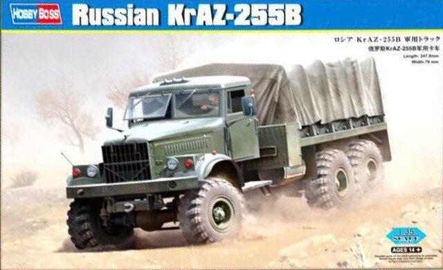 Hobbyboss 1 35 85506 - Russian KrAZ-255B