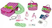 Luggage And Travel Set For 18in Dolls Girls Games Playroom House Our Generation on sale