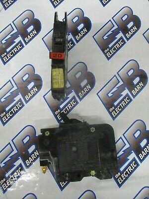 FPE NC120 UBIF020 20 Amp 1 Pole Stab-Lok Type NC Thin Federal Pacific