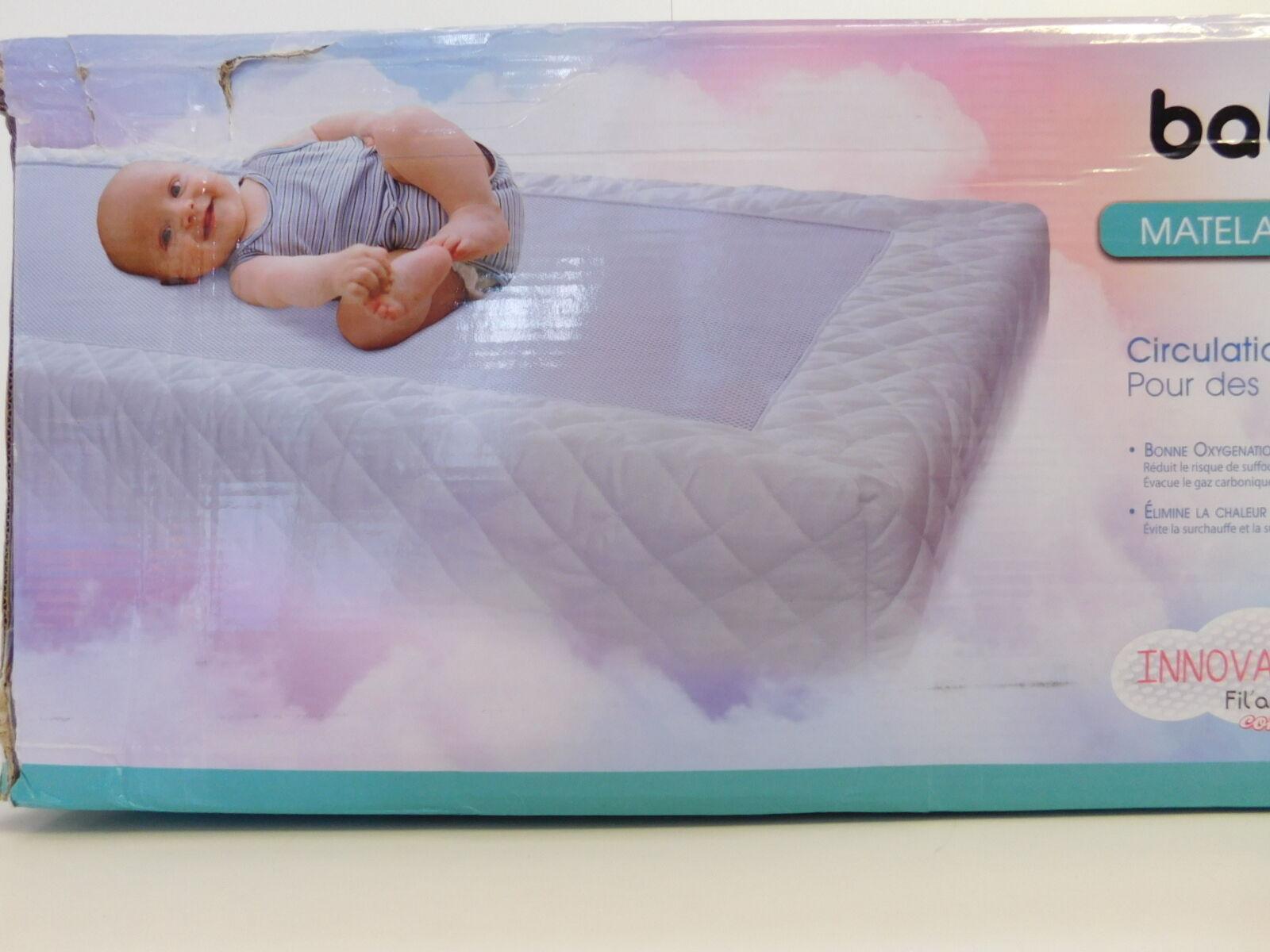 Visiomed Baby Baby Baby Baby Air, 100% Atmungsaktiv, Matratze 25e5b7