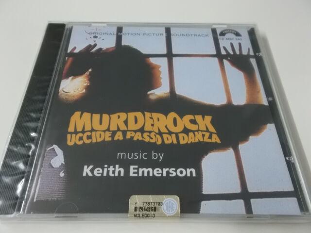 MURDEROCK SOUNDTRACK CD - NEU (KEITH EMERSON - UCCIDE A PASSO DI DANZA)