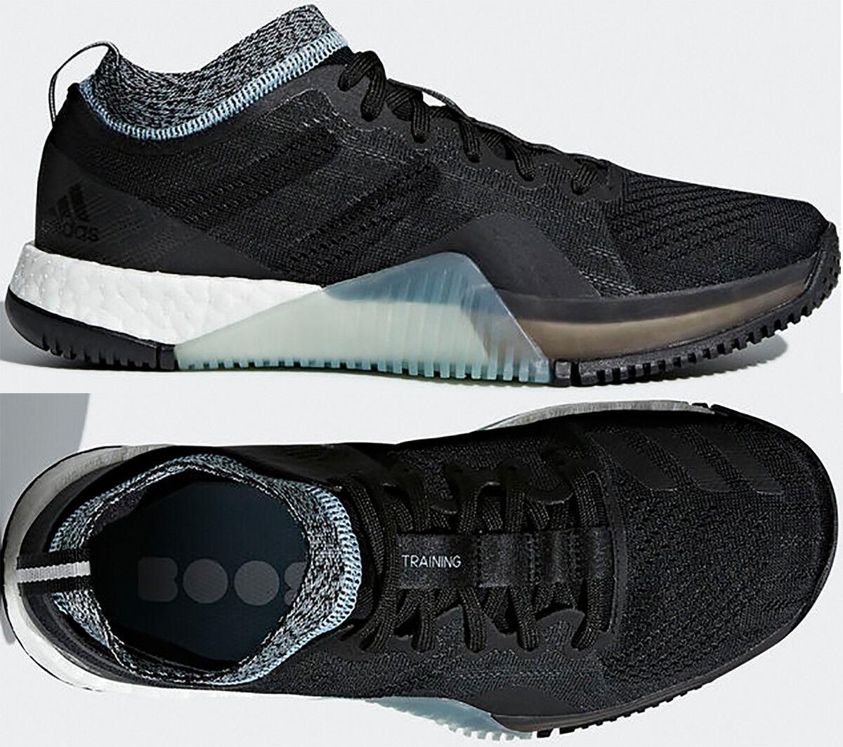 Women Adidas CRAZYTRAIN ELITE Womens Cross Training shoes Black Ash Grey B22552
