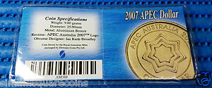 2007-Australia-1-Uncirculated-Apec-Dollar-Commemorative-Coin