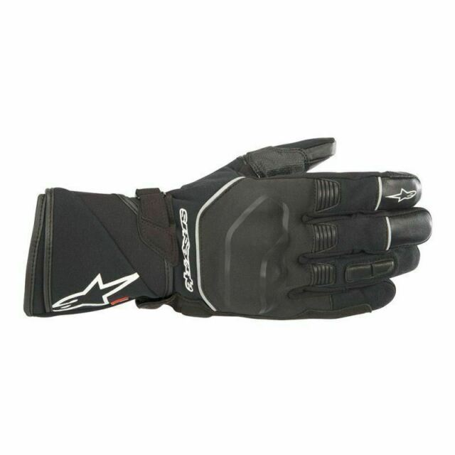 ALPINESTARS ANDES OUTDRY WATERPROOF MOTORCYCLE GLOVES BLACK CE APPROVED SAVE £30