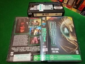 THE-FLY-2-Like-Father-Like-Son-1989-Rare-Australian-CBS-FOX-VHS-Issue-HORROR