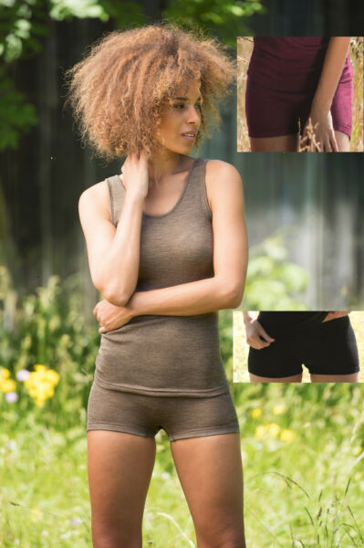 Engel-Natur Damen Pants Unterwäsche Wolle Seide GOTS zertifiziert Bio