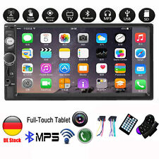 7 '' Autoradio Stereo Touchscreen Doppel 2Din Bluetooth MP5 AUX FM SD TF In-Dash