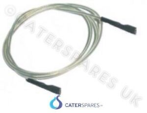 1250mm Piezo Allumage Câble Ht à Clipser Connecteur Bouton Allumeurs 127cm Long Limpide à Vue