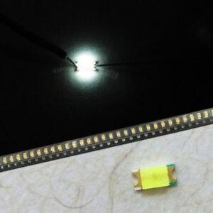 50pcs 1206 SMD SMT Super Bright Yellow LED Lamp Light 1206 Yellow Bulbs