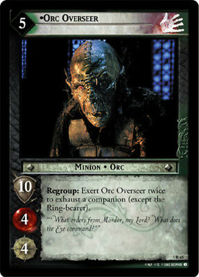 Orc Crusher Lightly Played Bloodlines Lord of the Rings TCG Decipher LOTR