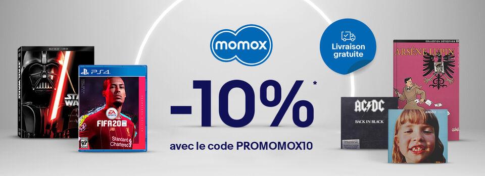 Code PROMOMOX10 - Profitez de -10 %* : des occasions en or !