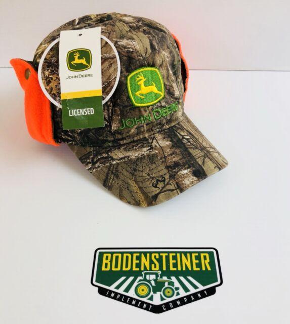 LP66993 John Deere Licensed Realtree Xtra Camo Hat   Cap With Earflaps 6029bee311b
