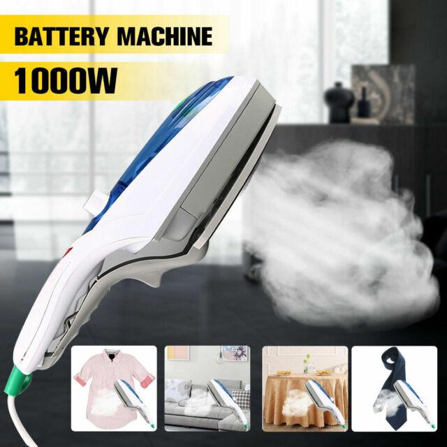 1000W Electric Steam Iron Handheld Fabric Laundry Steamer Brush Travel 220V