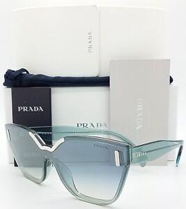 98ad5292443 New Prada sunglasses PR16TS VIS5R0 Blue Gradient cat butterfly PR 16 ...