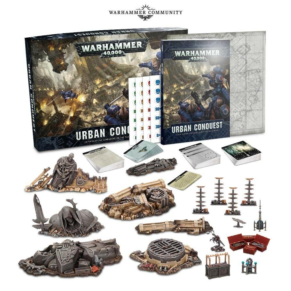 Warhammer  40k Urban Conquest Set nuovo in scatola  negozio online