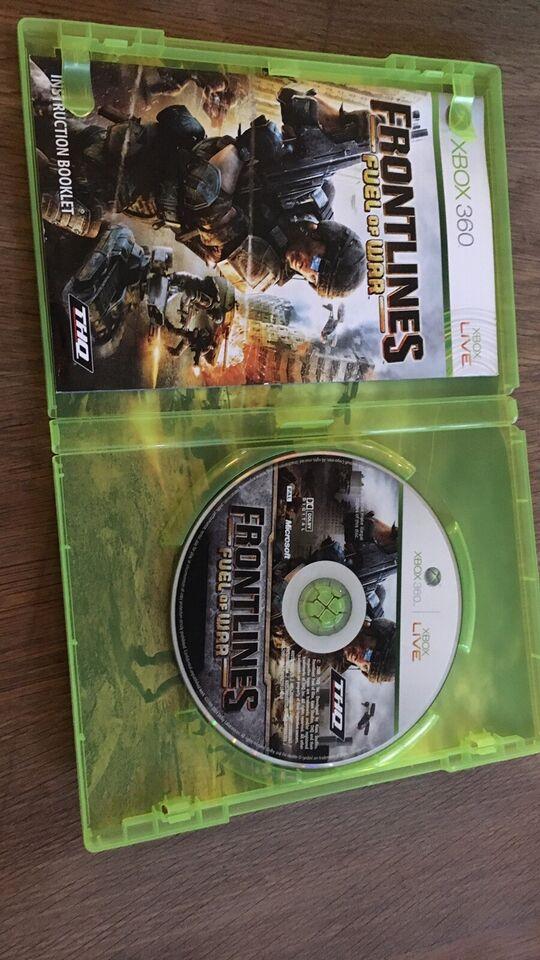 Frontlines , fuel of war, Xbox 360