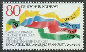 Germany-1986-MNH-Mi-1283-Sc-1462-Union-of-German-Catholic-Students