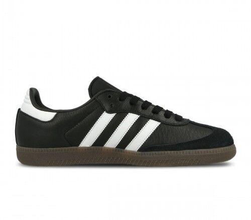 Para Hombre Adidas Samba Og Negro blancooo Gum BZ0058 varios tamaños Reino Unido