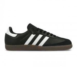new product a0285 4c383 ... Hommes-Adidas-Samba-Og-Noir-Blanc-Gomme-BZ0058-