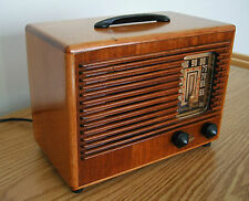 "Restored Vintage Emerson AM Broadcast Table Radio ""LiL GEM"" from 1942"