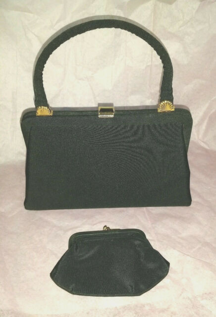 3352158d3f9 Rare Vintage Small Woolf Brothers BOBBIE JEROME Evening Handbag with Coin  Purse