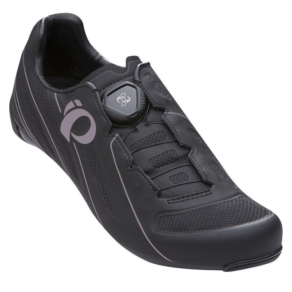 Pearl Izumi Wohombres Race Road V5 Cochebono Boa Bicicleta Ciclismo Zapatos Negros -