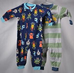 5c6d64df957f Carter s Boys 2-Pack Fleece Footless Pajamas