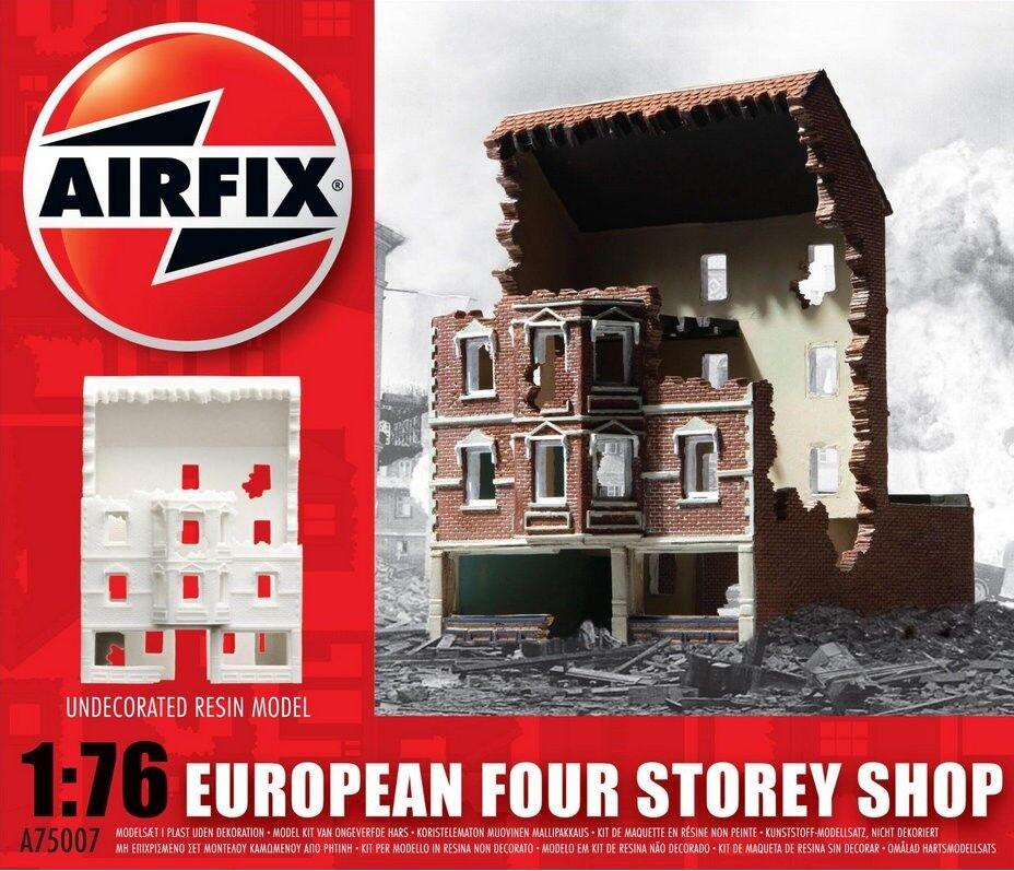 Airfix A75007 1  76 hkonsts European Four Storey Shop Ruiner