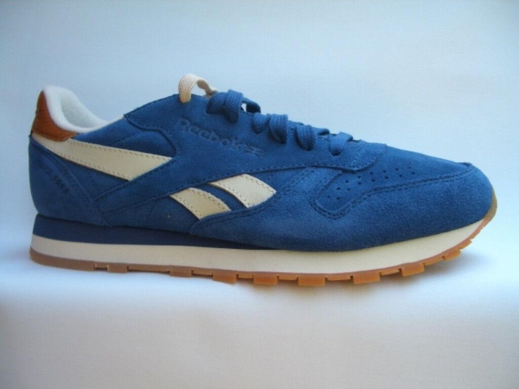 REEBOK CLASSIC LEATHER SUED blue V45567  Sneaker Classic Laufschuhe