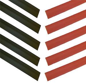 19-1mm-BLACK-RED-Heat-Shrink-Heatshrink-TubeTubing-2-1-RATIO-10-x-20cms-8-034
