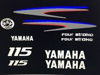 Yamaha Outboard Motor Decal Kit 115 Hp 4 Stroke Kit