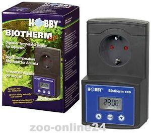 Haustierbedarf Hobby Biotherm Eco Digitaler Temperatur-regler Für Aquarium; Nr.10893 Fest In Der Struktur Heizungen & Kühlungen