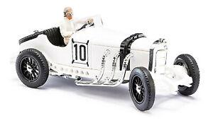 Busch-48301-Mercedes-Benz-Sskl-With-Driver-Figure-Piece-Car-Model-1-87-H0