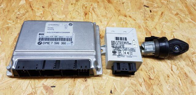BMW E39  5er 540i M62  Motorsteuergerät EWS  7506366