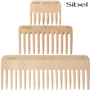 Sibel-Bamboo-Afro-Comb-Lightweight-and-Antistatic-For-Professional-Hairdressers