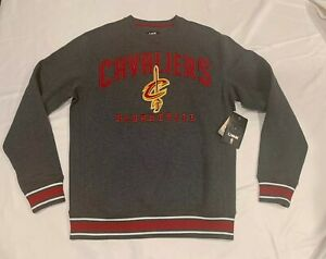 NBA Cleveland Cavaliers Team Apparel  Crew Neck Logo Sweatshirt Mens Medium NWT