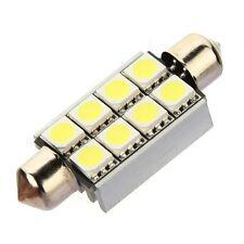 10 x Sofitte Soffitte C5W 8 SMD 5050 LED 42MM Weiss CANBUS Innenraum Lampe Li DE