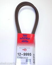 """9995 Rotary Drive Belt Compatible With Murray 37X87, 037X87MA, 710341 (1/2x97"""")"""
