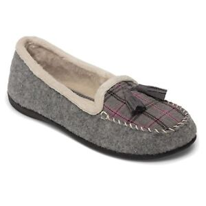 4f6ba1cbcc0e Padders TASSEL Ladies Womens Felt Wide (E Fit) Warm Lined Moccasin ...