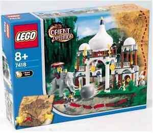 Lego® Orient Expedition Super Set 7411 7412 7413 7415 7417 7418 Nouveau Ovp Nouveau Nrfb