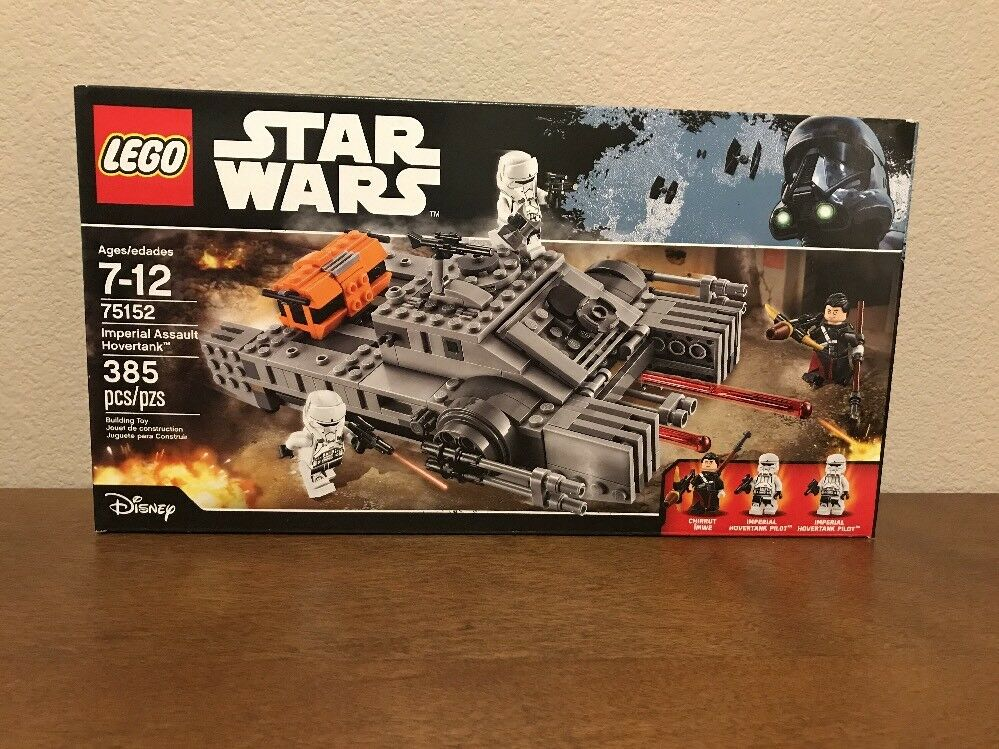 Star Wars Lego 75152 Imperial Assault Hovertank NEW In Box