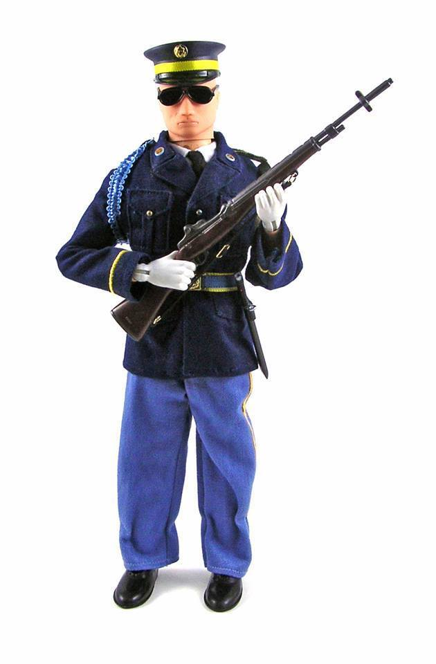 Elite Brigade by Cotswold US Army: 3rd Inf Tomb Guard  figure set EDF-53A