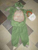 Baby Grand, 6-9 Months, Dragon 3 Pc. Halloween Costume W/treat Bag