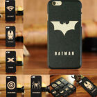 Men Boy Marvel Heros Case Cover for iPhone 4/4s 5/5s 6/6P 7/7P Valentine Gifts