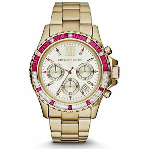 Michael Kors Everest Chronograph MK5871 Wrist Watch for Women   eBay c59199f727