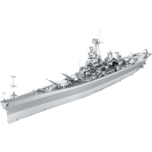 Metal Earth Iconx USS Missouri 3D Metal Model Kit Fascinations 13658 BB-63