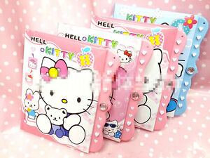 New-Cute-Kawaii-Hellokitty-Lock-Password-Diary-Books-Notebook-AA023